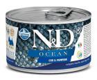 N&D dog OCEAN konz. ADULT MINI codfish/pumpkin