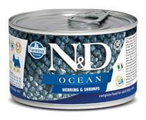 N&D dog OCEAN konz. ADULT MINI herring/shrimps