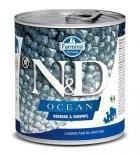 N&D dog OCEAN konz. ADULT herring/shimps
