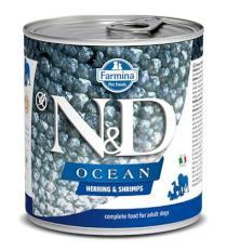N&D dog OCEAN konz. ADULT herring/shimps