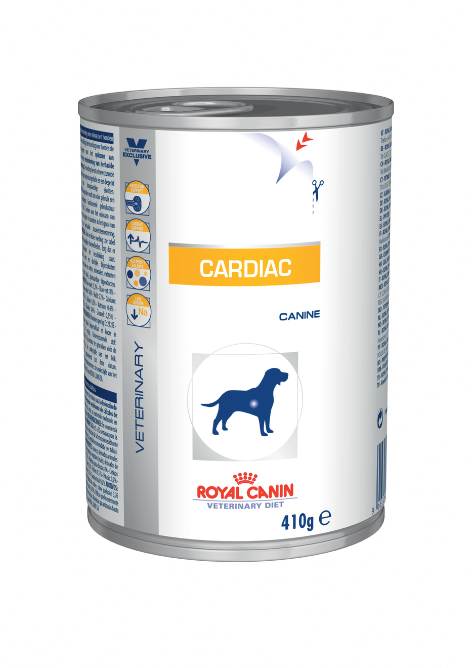 Royal Canin Veterinary Diet Dog CARDIAC konzerva - 410g