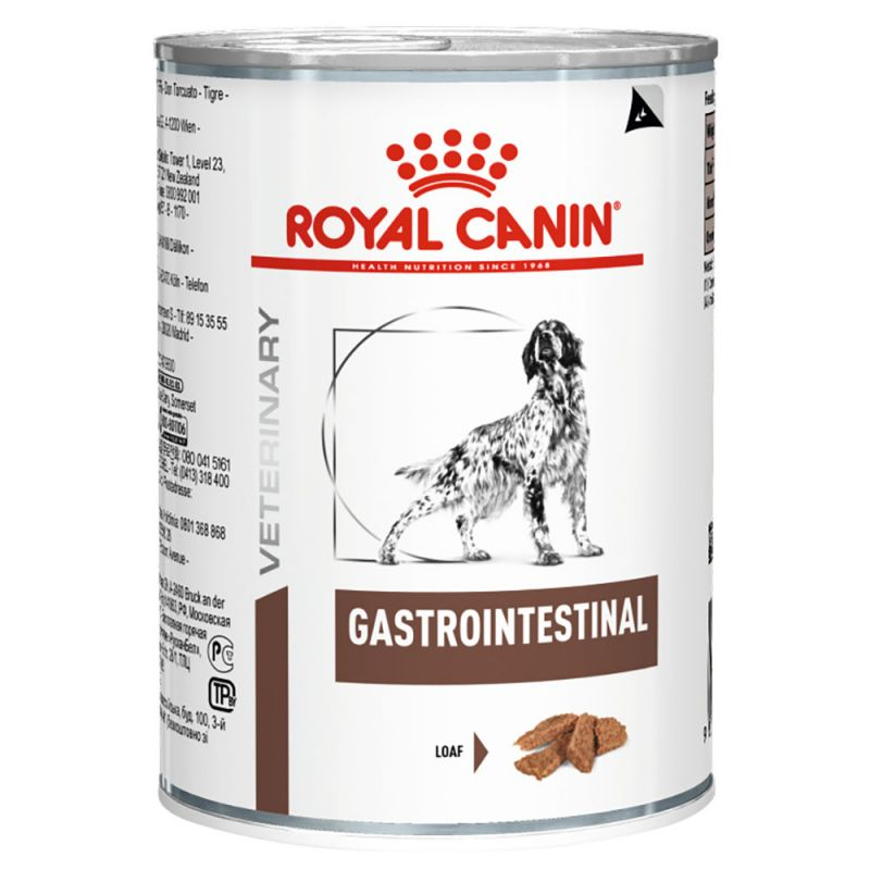 Royal Canin Veterinary Diet Dog GASTROINTESTINAL konzerva - 200g