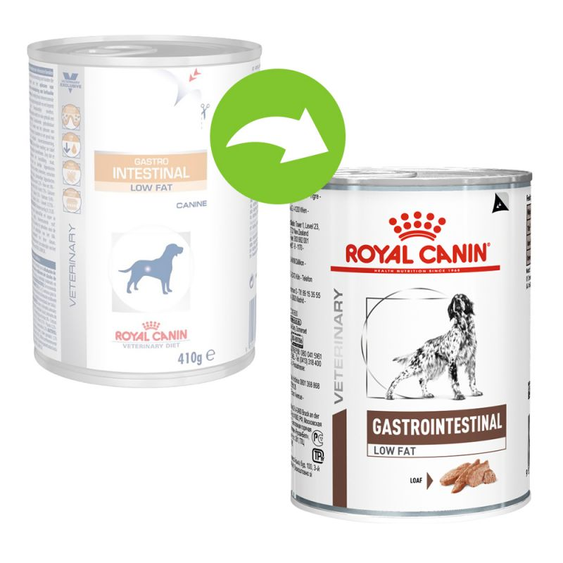 Royal Canin Veterinary Diet Dog GASTROINTESTINAL LF konzerva - 410g