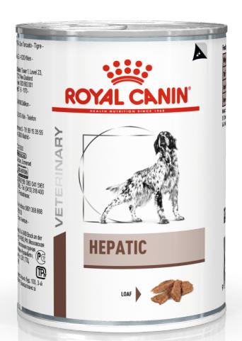 Royal Canin Veterinary Diet Dog HEPATIC konzerva - 420g