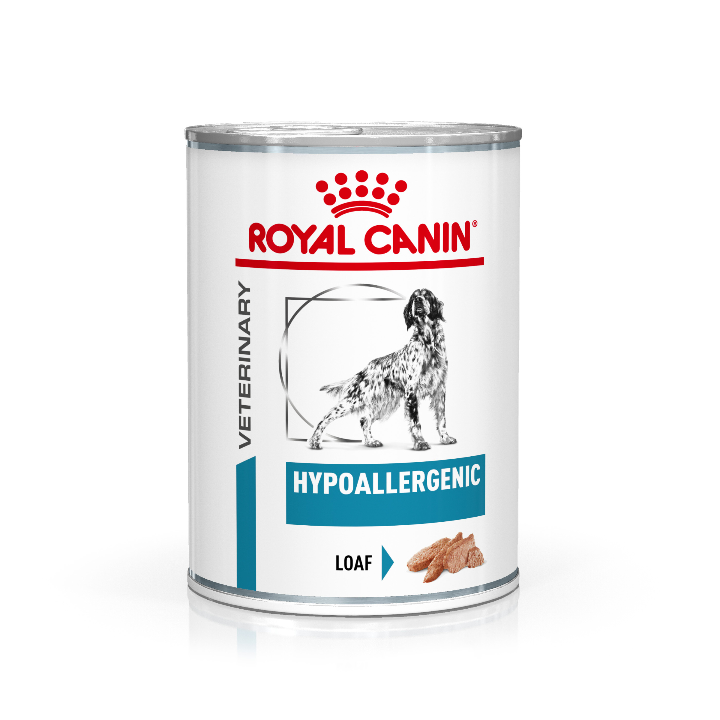 Royal Canin Veterinary Health Nutrition Dog HYPOALLERGEN konzerva - 200g