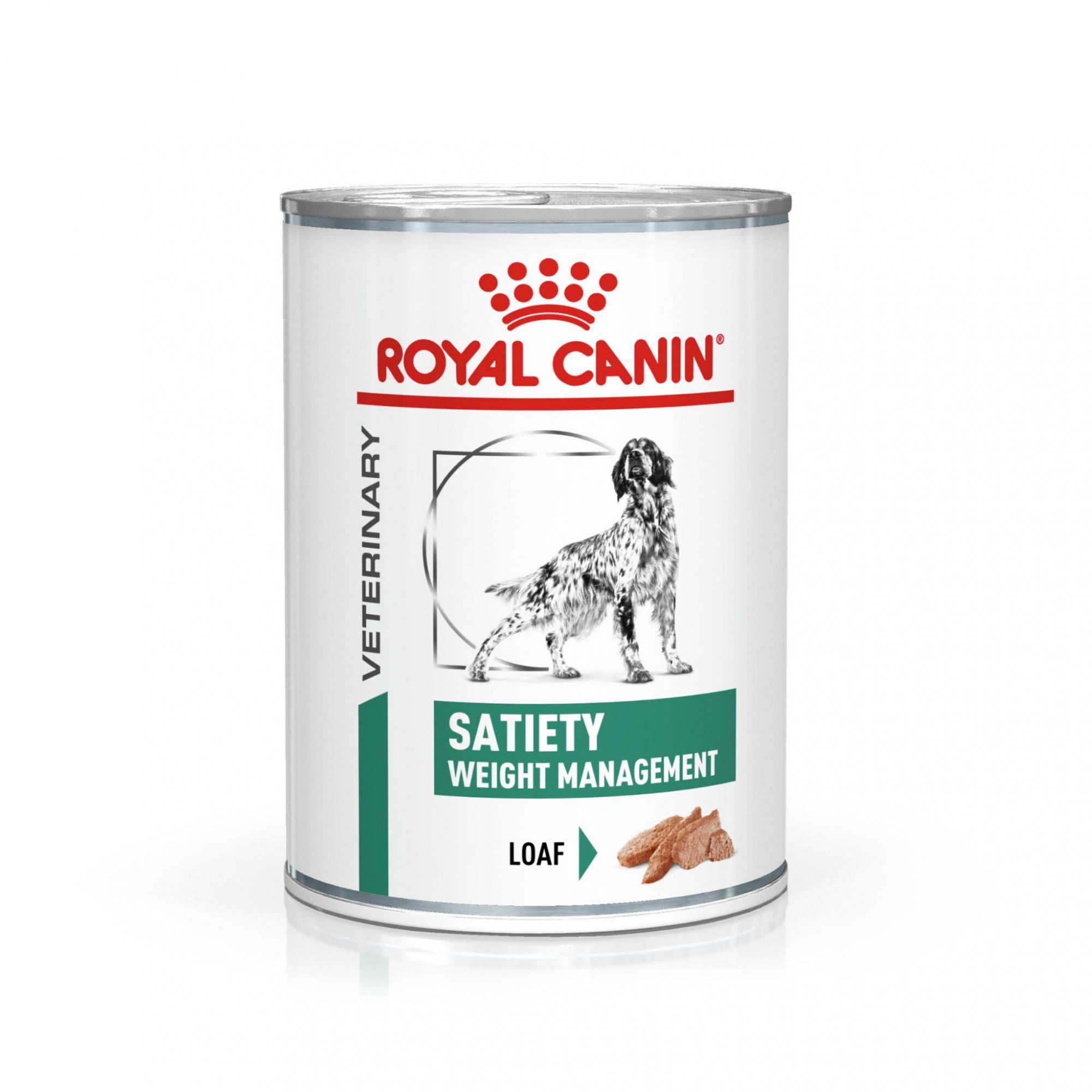 Royal Canin Veterinary Health Nutrition Dog SATIETY konzerva - 410g