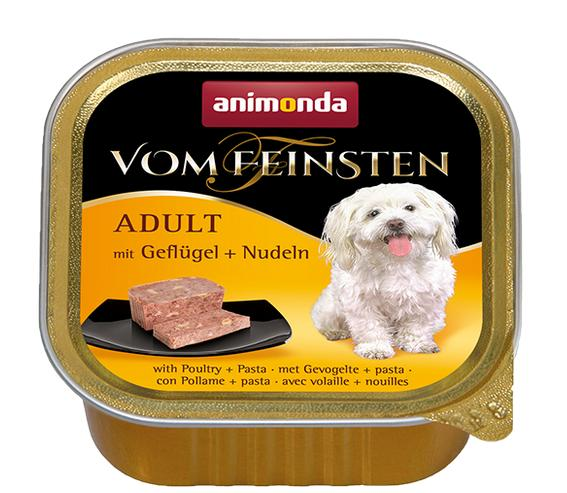 ANIMONDA dog paštika  ADULT 150g - Drůbežínudle