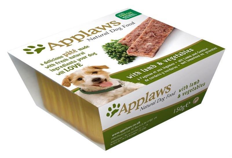 APPLAWS dog vanička JEHNĚČÍ/zelenina - 150g