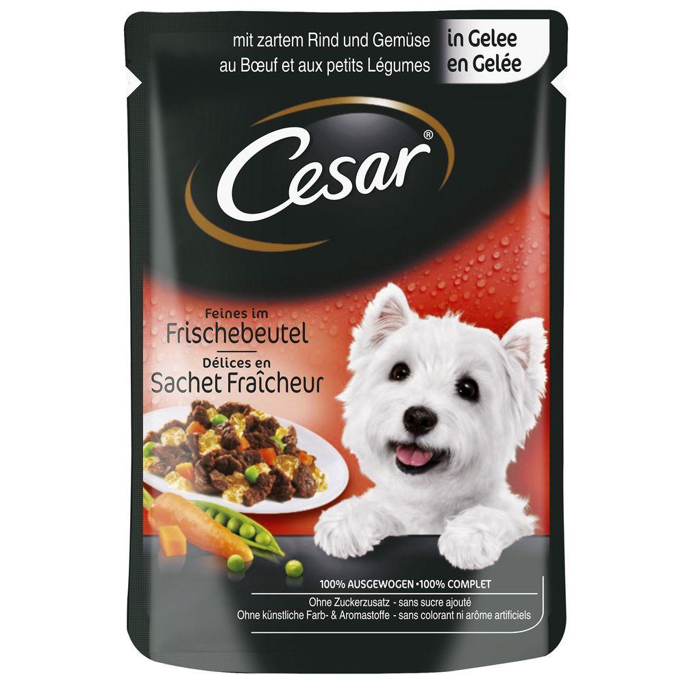 CESAR kapsa   100g - S hovězím a zeleninou/želé