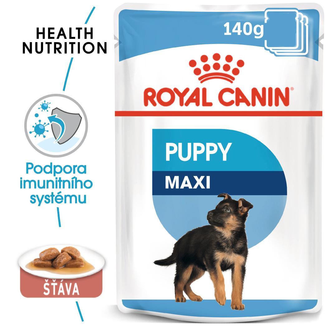 Royal Canin Maxi Puppy - kapsička pro velká štěňata - 140g