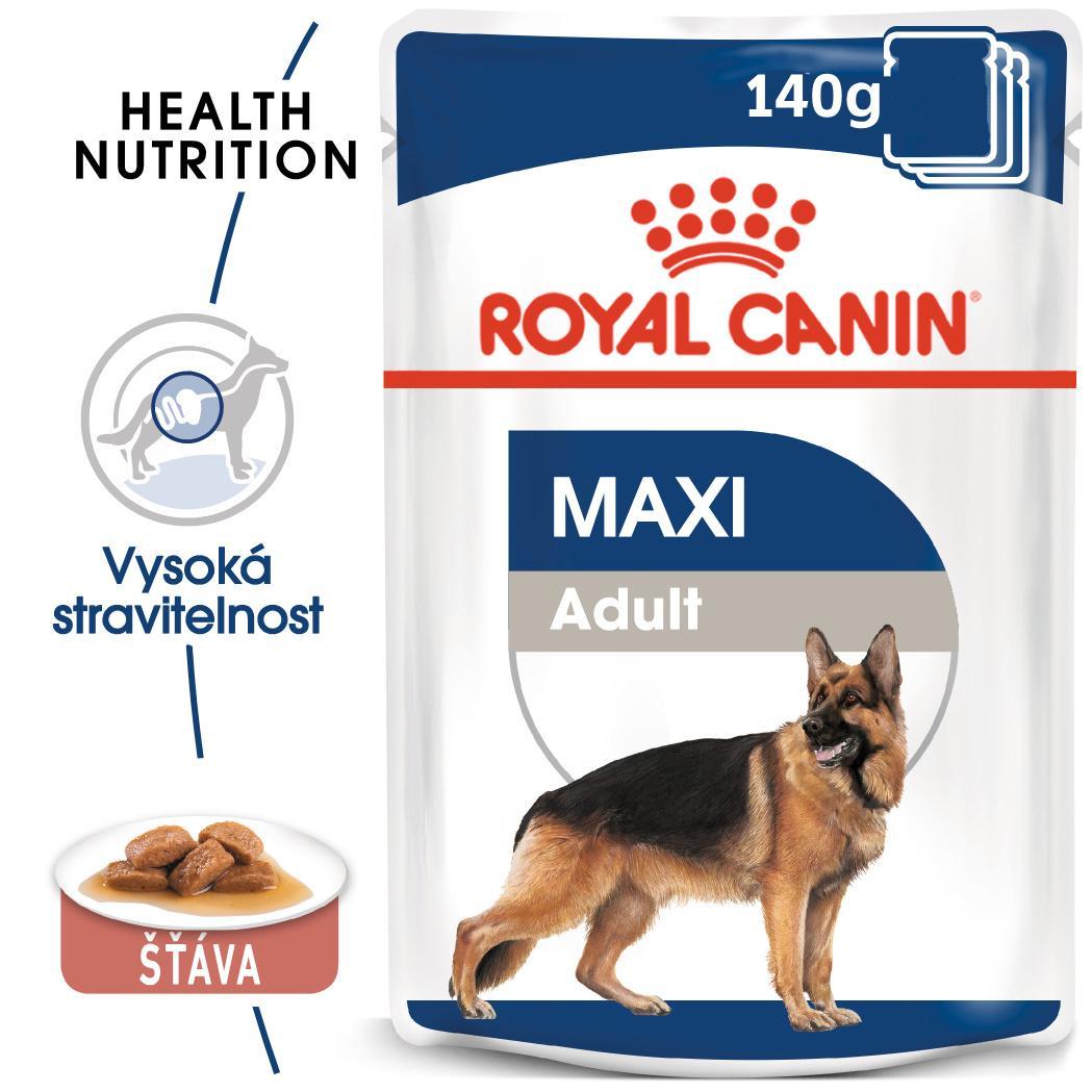 Royal Canin Maxi Adult - kapsička pro dospělé velké psy - 140g