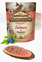CARNILOVE dog  kapsa PUPPY salmon/blueberries