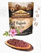 CARNILOVE dog kapsa PATÉ BUFFALO/rose petals