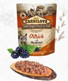 CARNILOVE dog  kapsa  PATÉ OSTRICH/blackberries