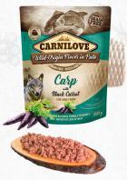 CARNILOVE dog  kapsa  PATÉ CARP/black carrot