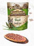 CARNILOVE dog kapsa  PATÉ DUCK/timothy grass