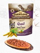 CARNILOVE dog  kapsa  PATÉ QUAIL/yellow carrot