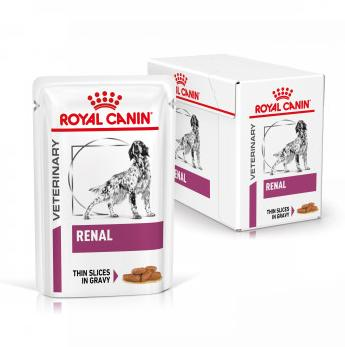 Royal Canin Veterinary Diet Dog RENAL Pouch kapsa - 100g