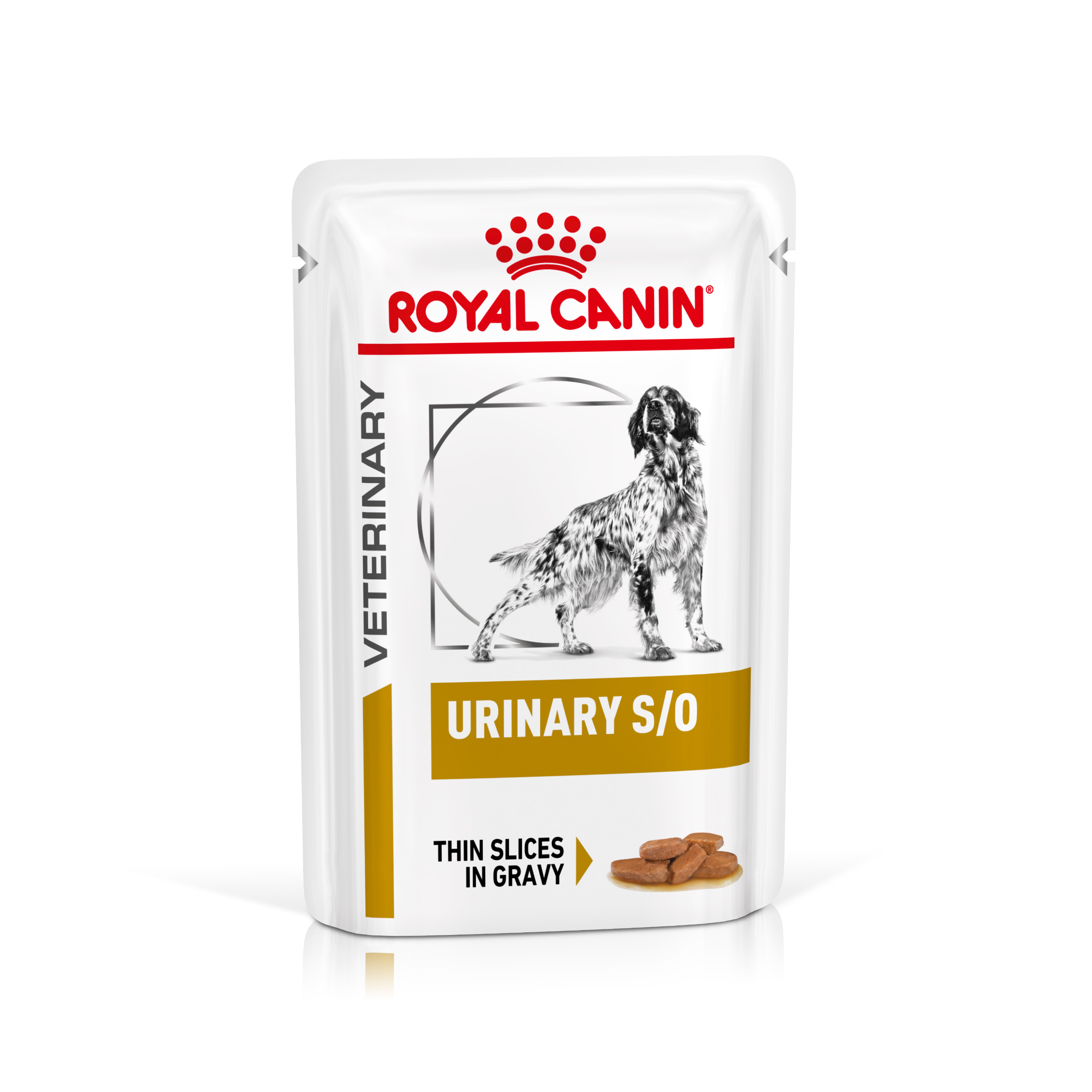 Royal Canin Veterinary Health Nutrition Dog URINARY SO Pouch in Gravy kapsa - 100g