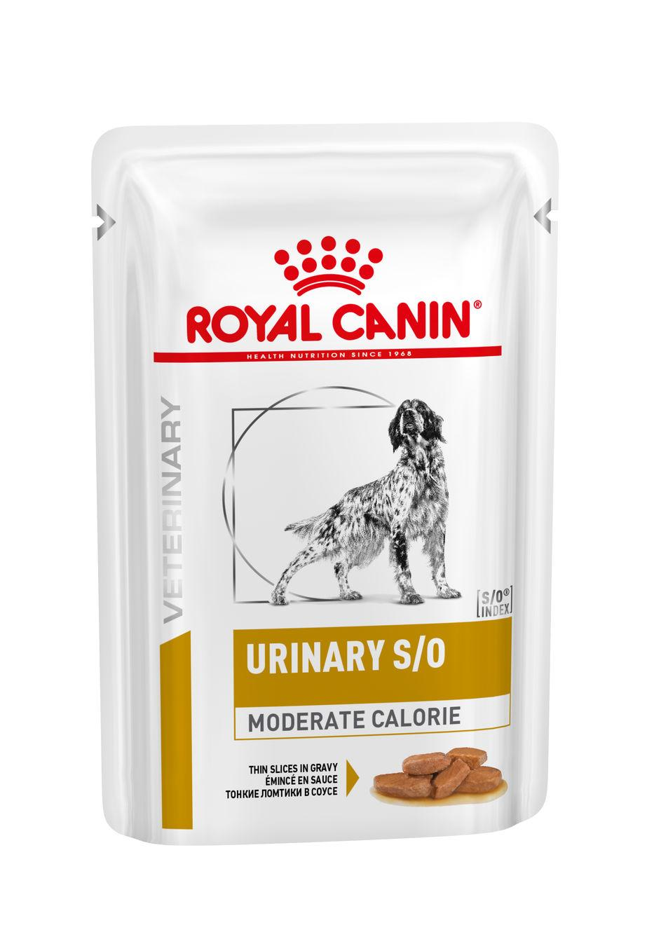 Royal Canin Veterinary Health Nutrition Dog URINARY S/O MC Pouch kapsa - 100g
