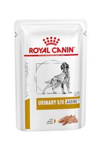 Royal Canin Veterinary Health Nutrition Dog URINARY S/O Age Pouch Loaf kapsa