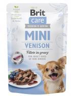 BRIT CARE dog  MINI kapsa ADULT  venison