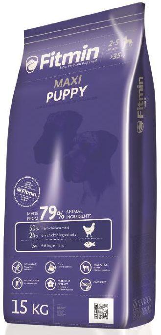 Fitmin MAXI PUPPY - 15kg + GRATIS 5x pamlsek ENJOY