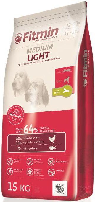 Fitmin MEDIUM LIGHT - 15kg + GRATIS 5x pamlsek ENJOY