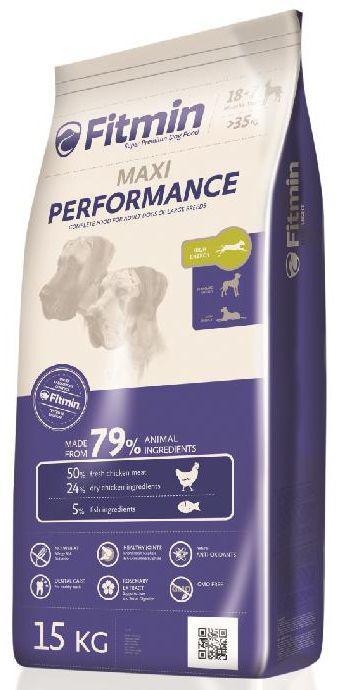 Fitmin MAXI PERFORMANCE - 15kg + GRATIS 5x pamlsek ENJOY