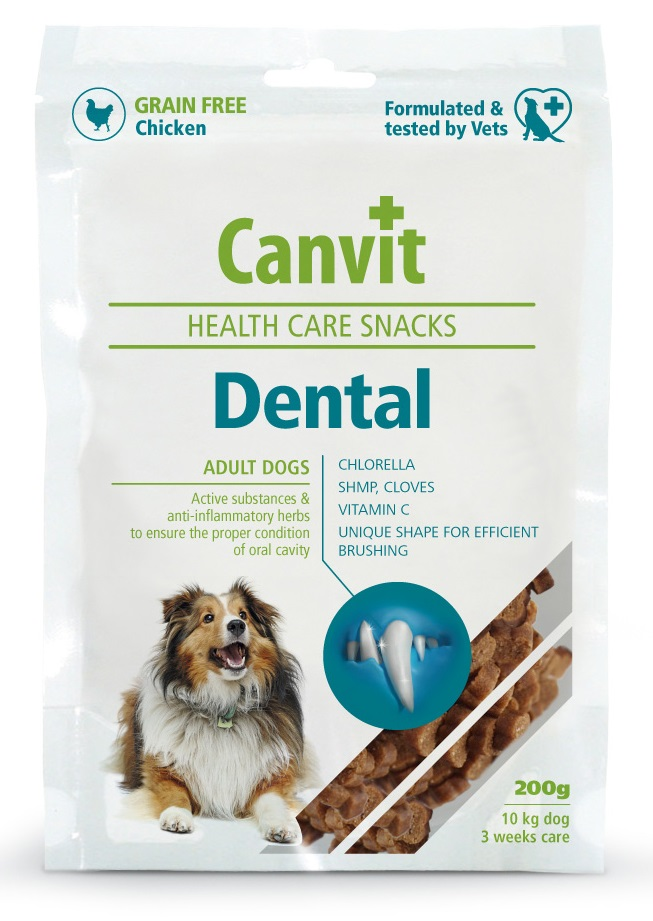 CANVIT dog snacks DENTAL - 200g