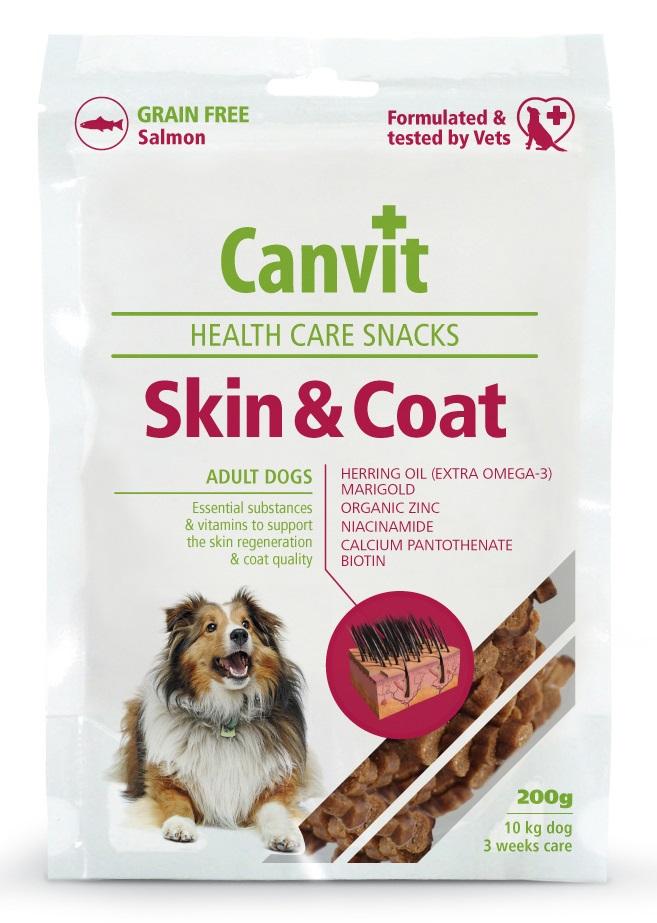 CANVIT dog snacks SKIN/COAT - 200g