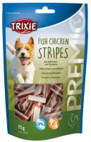 Trixie dog pochoutka PREMIO light STRIPES kuře a losos