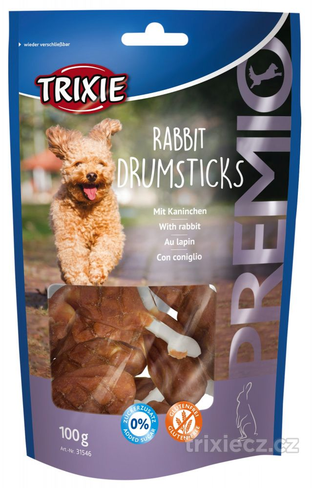 Pochoutka dog RABBIT DRUMSTICK (trixie) - 100g
