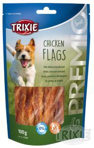 Pochoutka dog CHICKEN FLAGS (trixie)