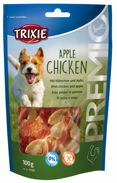 Pochoutka dog  APPLE CHICKEN (trixie) - 100g