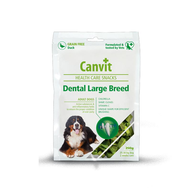 CANVIT dog snacks DENTAL LARGE breed