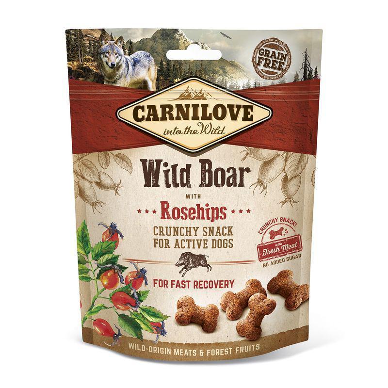 CARNILOVE dog WILD BOAR/rosehips - 200g