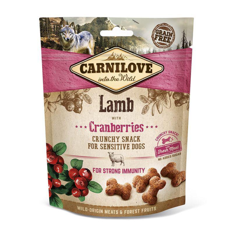 CARNILOVE dog LAMB/cranberries - 200g