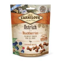 CARNILOVE dog OSTRICH/blackberries