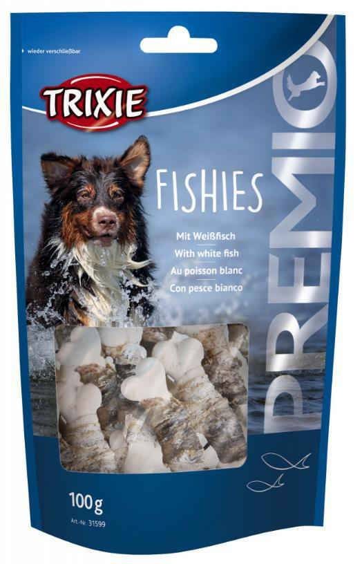 Pochoutka dog FISHIES (trixie) - 100g