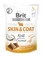 BRIT snack SKIN COAT krill/coconut