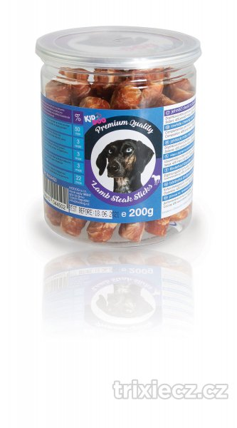 KIDDOG  paml.  LAMB steak sticks - 200g