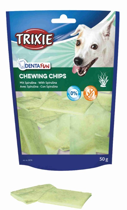 Pochoutka dog Chewing Chips (trixie) - 50g