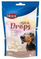 Pochoutka  dog MILCHdrops (trixie)