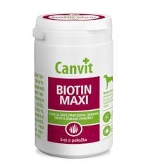CANVIT  dog  BIOTIN MAXI ochucené nad 25kg