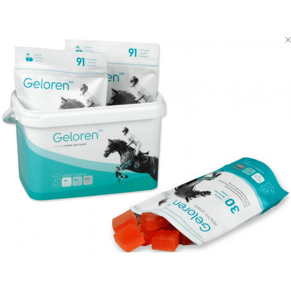 GELOREN HA gelové tablety - 1350g - jablečný
