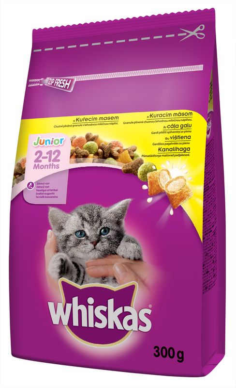 WHISKAS suché JUNIOR - 300g