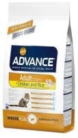 ADVANCE cat   ADULT chicken/rice