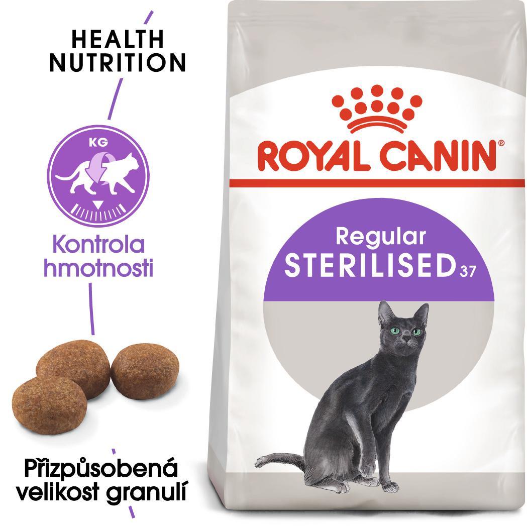 Royal Canin Sterilised - granule pro kastrované kočky - 400g