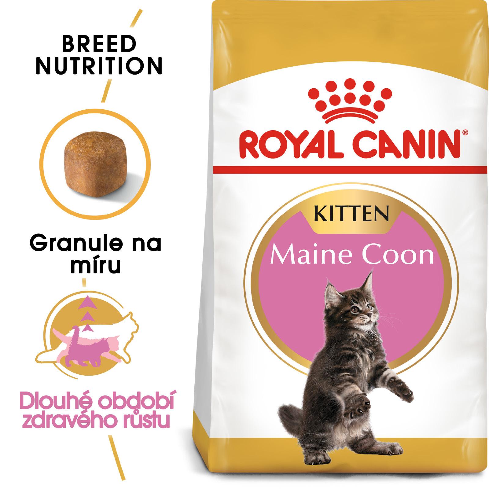 Royal Canin cat KITTEN MAIN COON -  granule pro mainská mývalí koťata - 400g